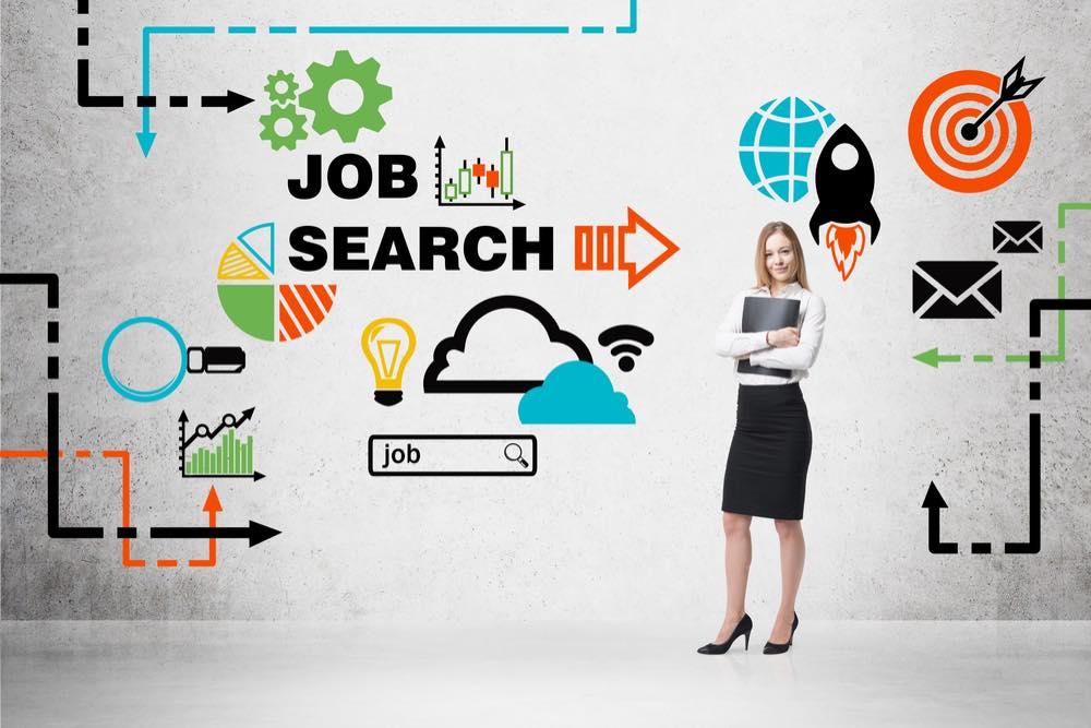 「JOB SEARCH」と書かれた画像