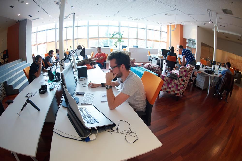 ベンチャー企業のオフィス