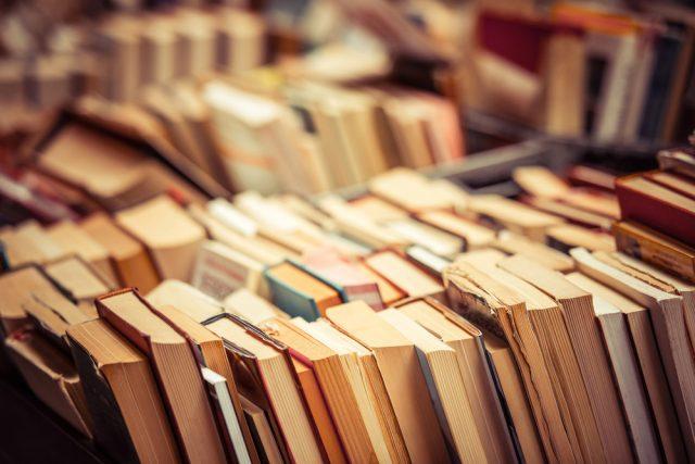 たくさんの中古の本