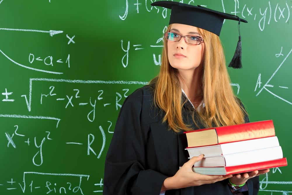 理系を卒業した大学院生