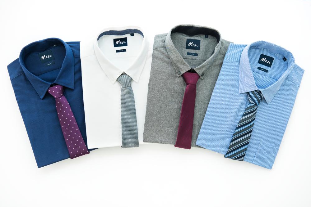 面接に合わせたシャツとネクタイの組み合わせ