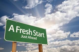 「A fresh start」のロゴ