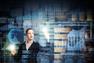 外資系企業に勤める女性