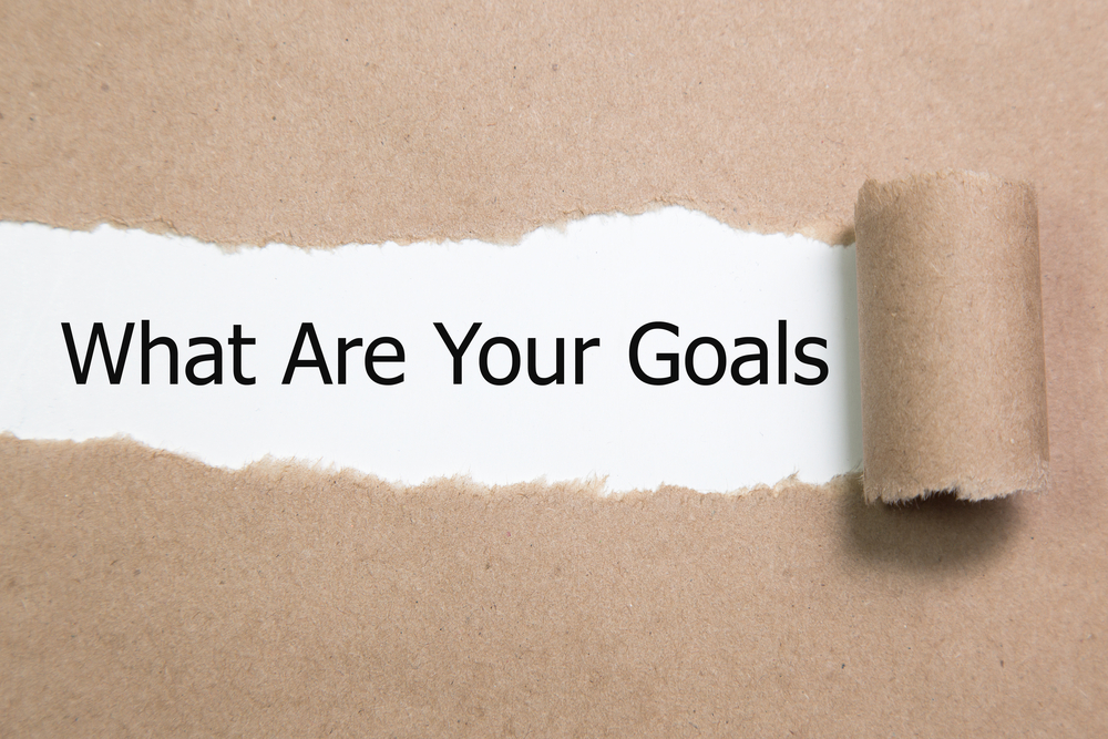 「What Are Your Goals」と書かれた画像