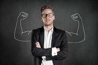 実力のある男性のイメージ