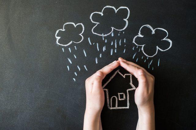 災害から家を守るイメージ画像