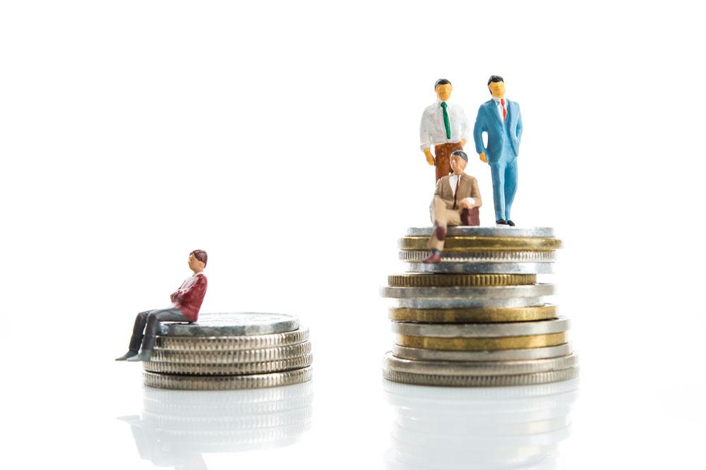 給料の高い人と低い人の格差
