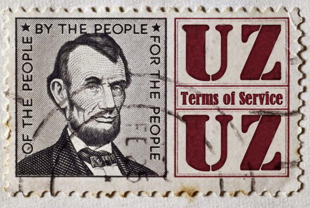 リンカーンの描かれたアメリカの切手