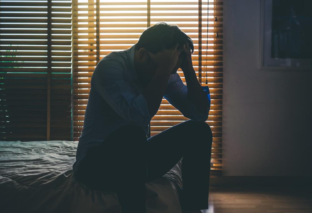社会人としてのギャップに苦しむ男性